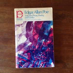 Edgar Allan Poe Selected Poetry, Prose, & Eureka